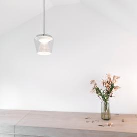 Serien Lighting Annex LED pendant light, crystal reflector