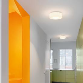 Serien Lighting Curling LED ceiling light, opal