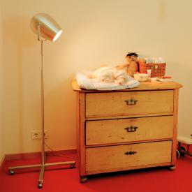 Serien Lighting Pan Am Cross floor lamp with dimmer