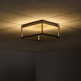 Serien Lighting Reflex² LED ceiling light with structured glass