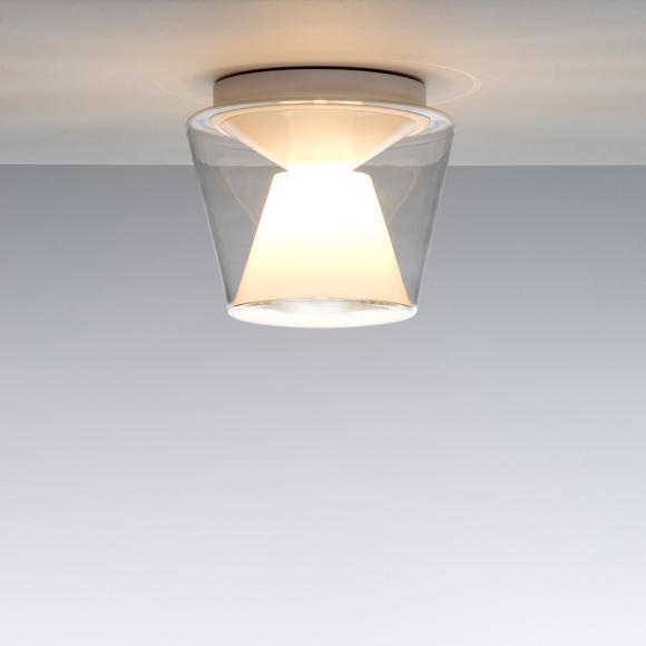 serien.lighting Annex ceiling light, clear/opal reflector