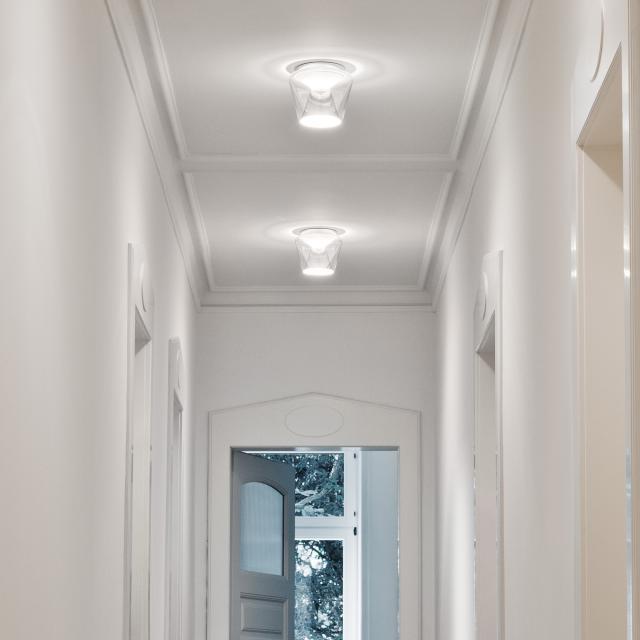 serien.lighting Annex LED ceiling light, polished reflector