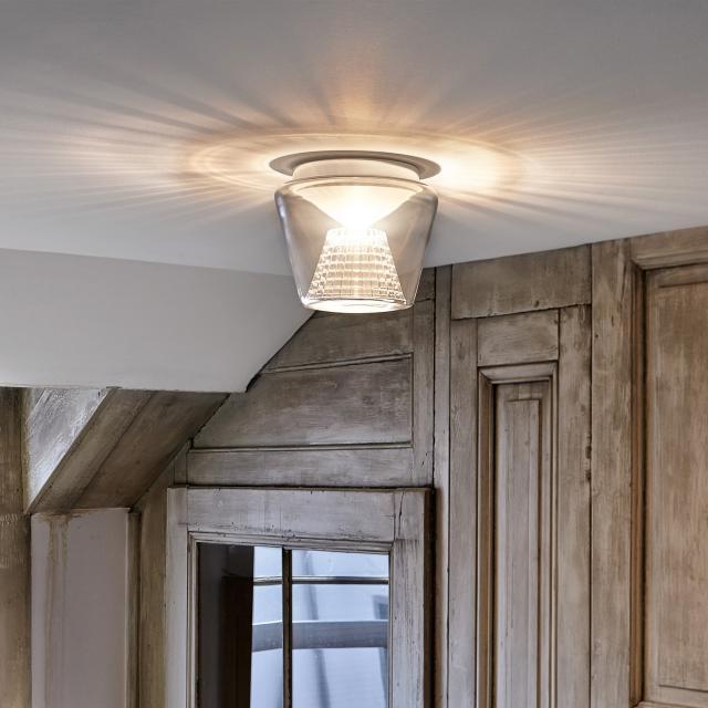 serien.lighting Annex LED ceiling light, crystal reflector