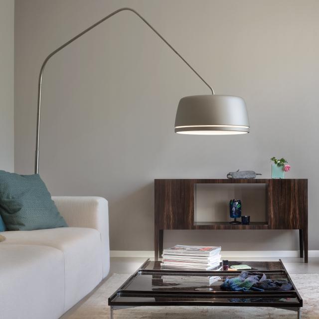 serien.lighting Central Floor LED floor lamp with dimmer
