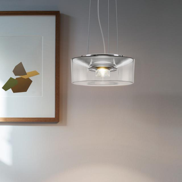 serien.lighting Curling Rope LED pendant light, D2'W