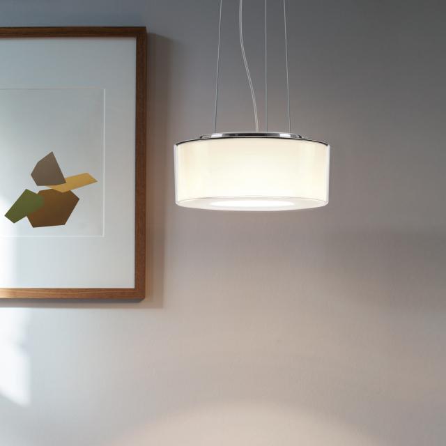 serien.lighting Curling Rope LED pendant light, cylindrical, D2W
