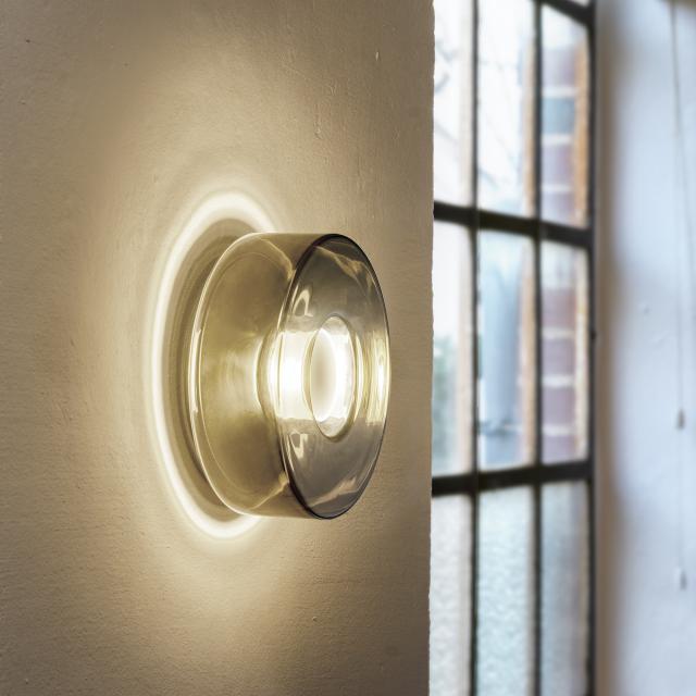 serien.lighting Curling LED wall light, D2W