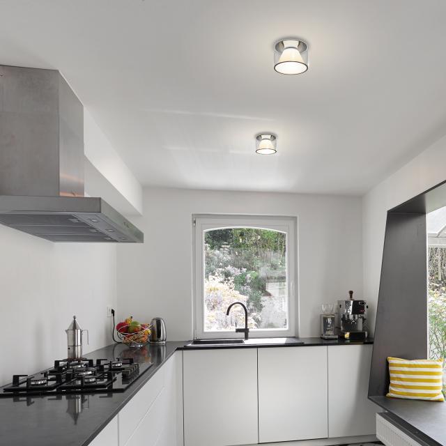 serien.lighting Drum M LED ceiling light, adjustable colour temperature