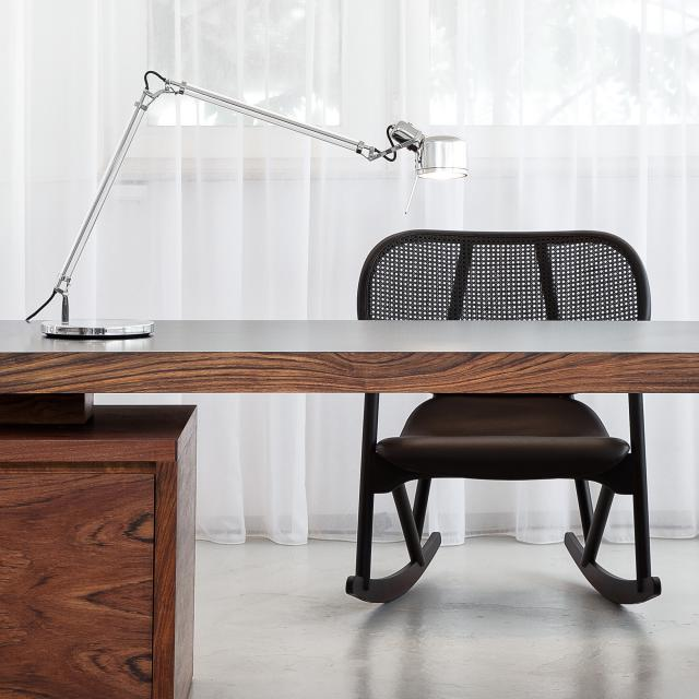 serien.lighting Job table lamp with base and dimmer