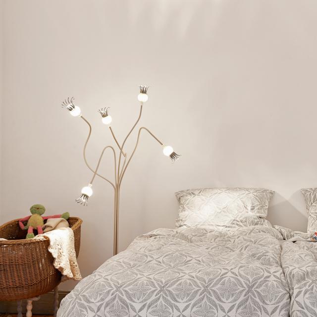 serien.lighting Poppy Floor floor lamp, 5 arms