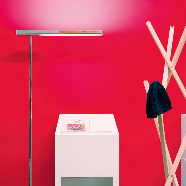 serien.lighting Slice² LED floor lamp with dimmer