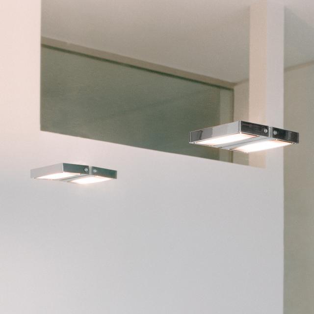 serien.lighting SML Wall medium wall light with dot matrix