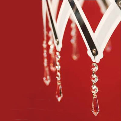 serien.lighting Zoom Crystal glass hangers, 20 pcs
