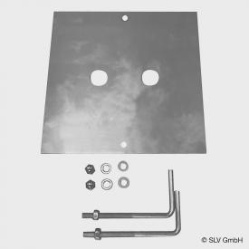 SLV concrete anchor set for SQUARE POLE bollard light