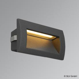 SLV DOWNUNDER OUT M LED recessed wall light