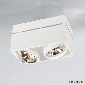 SLV Kardamod Surface Square QRB111 Double ceiling light / spotlight