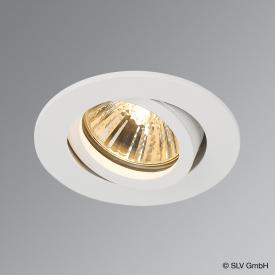 SLV NEW TRIA 68 recessed ceiling light / spotlight, round