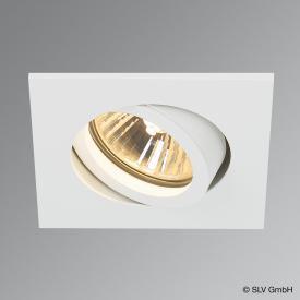 SLV NEW TRIA 68 recessed ceiling light / spotlight, square