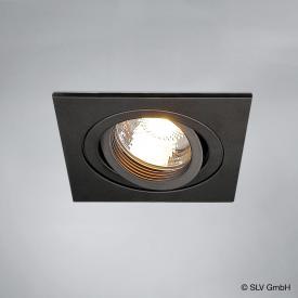 SLV NEW TRIA I GU10 Downlight square recessed ceiling light / spotlight