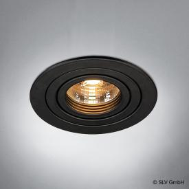 SLV NEW TRIA GU10 Downlight round recessed ceiling light / spotlight