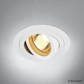 SLV NEW TRIA GU10 Downlight round recessed ceiling light / spotlight