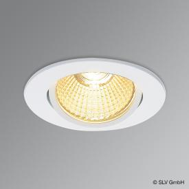 SLV NEW TRIA LED recessed light / spotlight, round