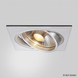 SLV NEW TRIA recessed ceiling light / spotlight, GU10 ES111