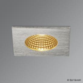 SLV Patta-I LED recessed light / spotlight, square