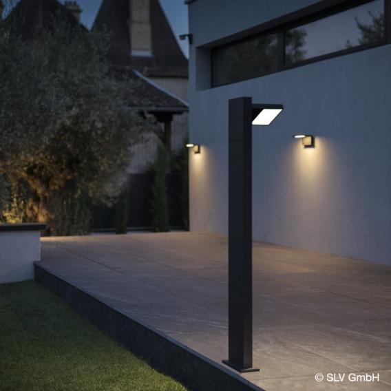 SLV ABRIDOR 60/100 LED bollard light with CCT