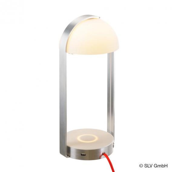 SLV Brenda LED table lamp with charging function