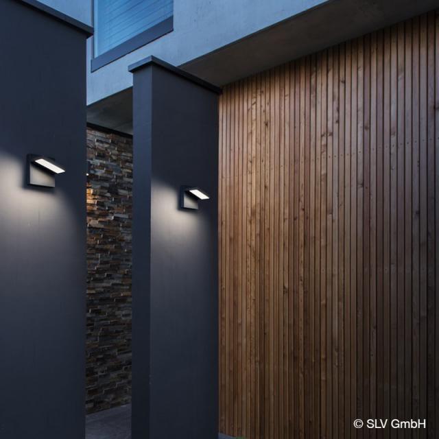 SLV ABRIDOR LED wall light with CCT