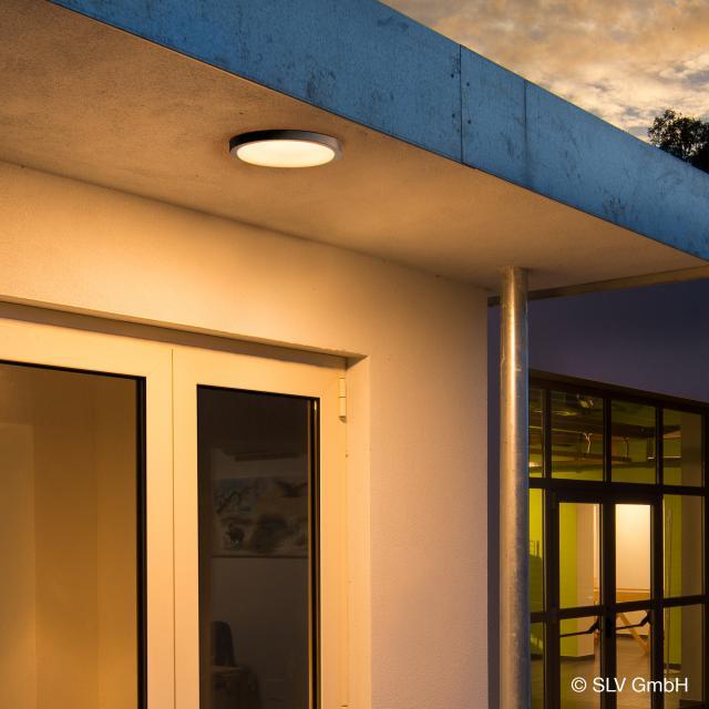 SLV AINOS LED ceiling light with motion sensor