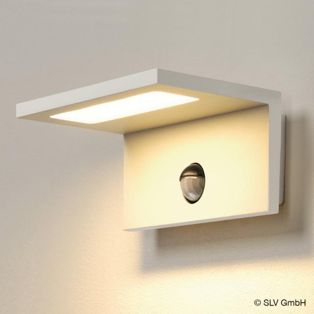 SLV ANGOLUX WALL LED wall light with motion sensor