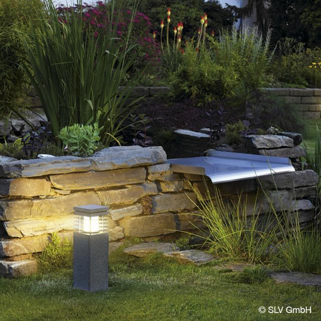 SLV ARROCK GRANITE 40/70 pedestal light