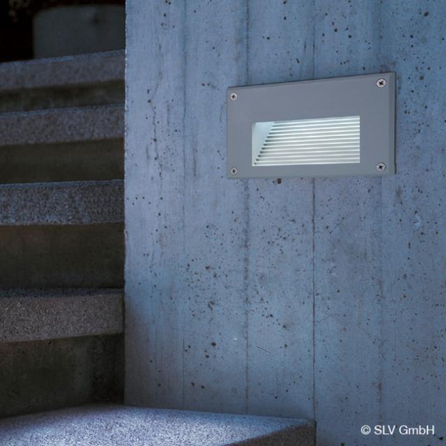 SLV BRICK LED Downunder recessed wall light