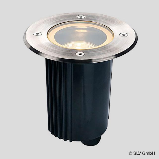SLV DASAR 115 GU10 in-ground uplighter / spotlight