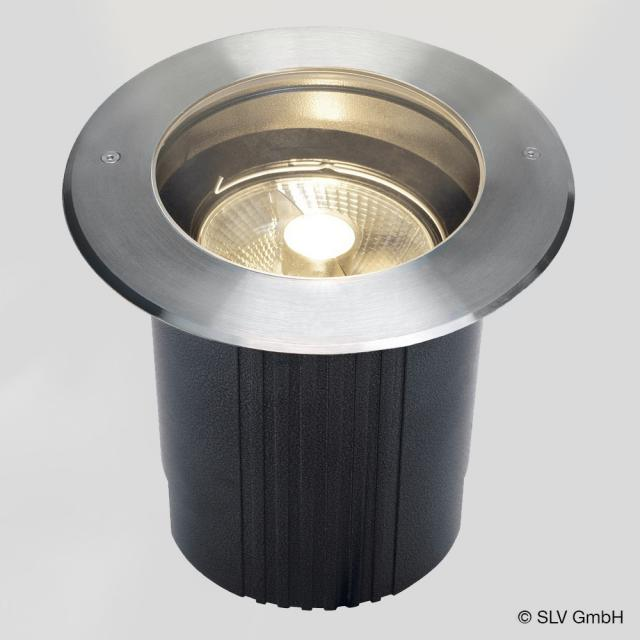 SLV DASAR 215 GU10 QPAR111 in-ground light / spotlight, round