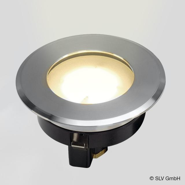 SLV DASAR FLAT 80 LED in-ground light / spotlight, round