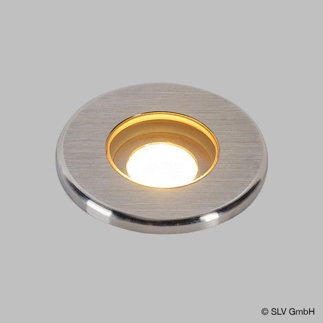 SLV DASAR MINI 37 LED in-ground uplighter / spotlight, round