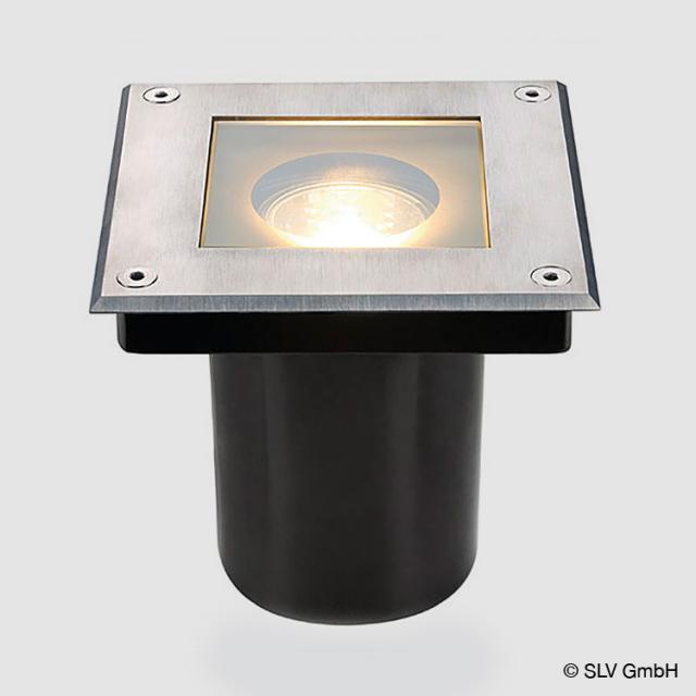 SLV DASAR SQUARE in-ground uplighter / spotlight