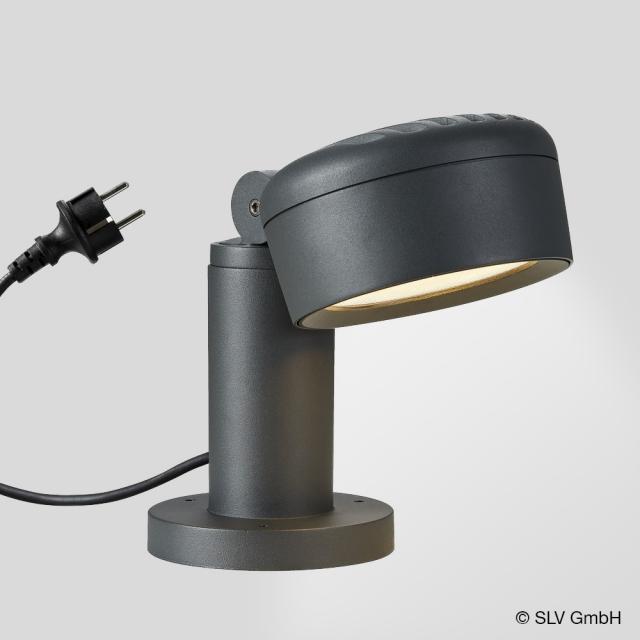 SLV ESKINA 30/80 LED pedestal light with CCT