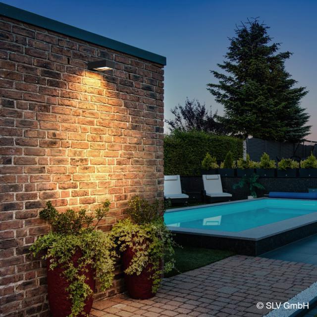 SLV ESKINA FRAME LED wall light with CCT, 2 head