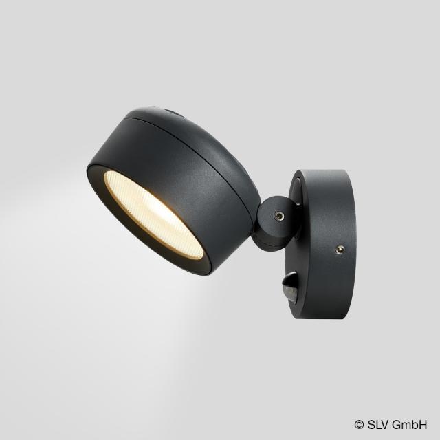 SLV ESKINA LED spot light / wall light with motion sensor and CCT