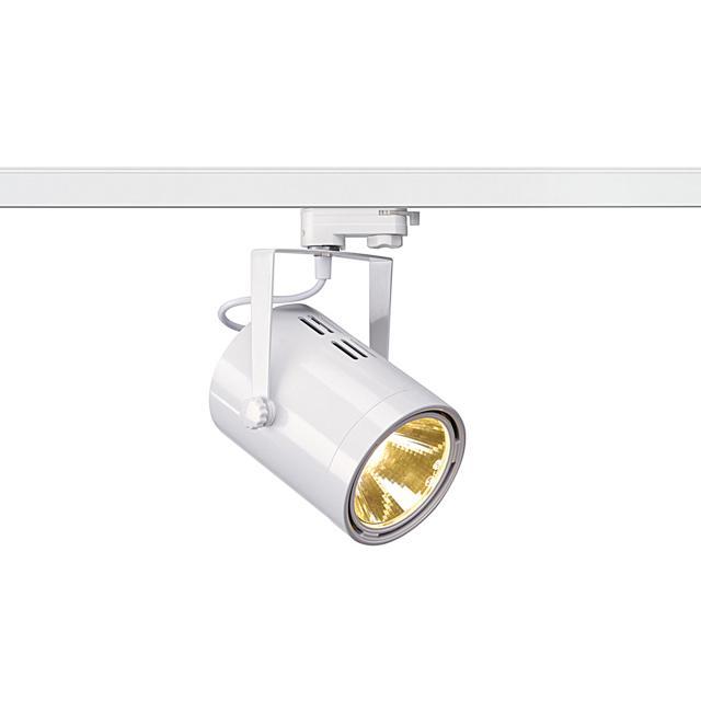 SLV Euro Spot LED spotlight for 3-phase mains voltage track