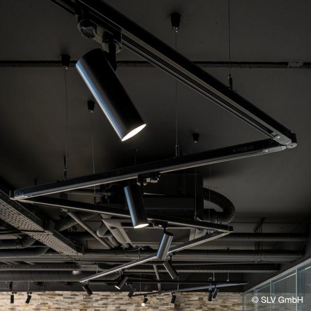SLV HELIA LED spotlight for 3-phase mains voltage track