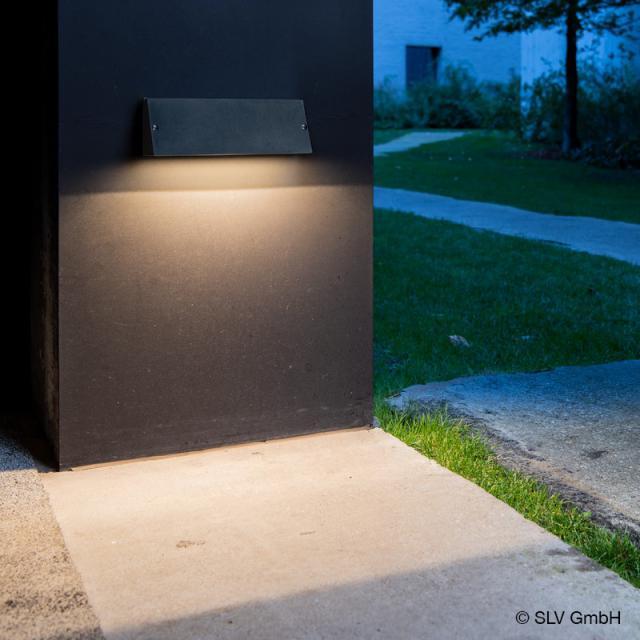SLV PEMA LED wall light with CCT