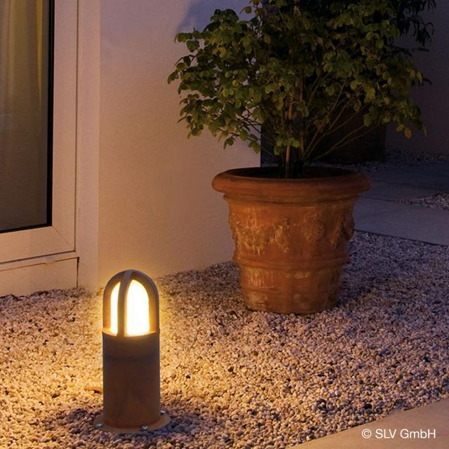 SLV RUSTY CONE 40 bollard light