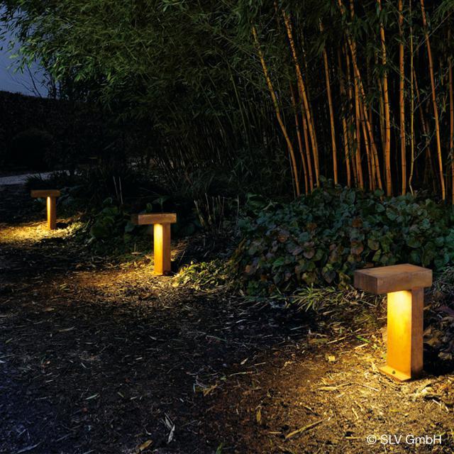 SLV RUSTY PATHLIGHT pedestal light