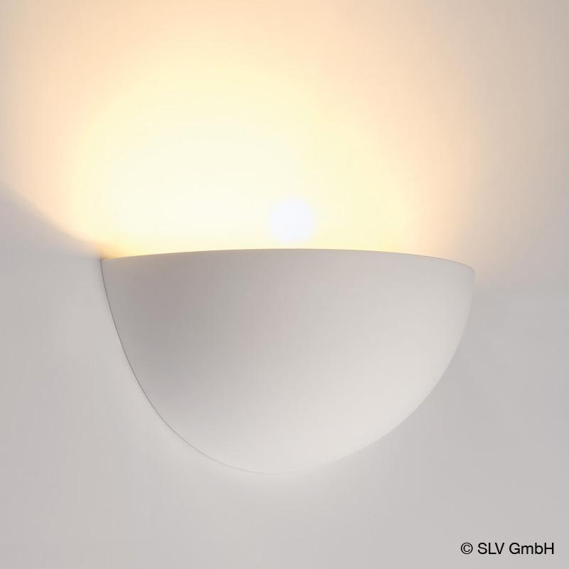 Slv Gl 101 Wall Light Made Of Gypsum
