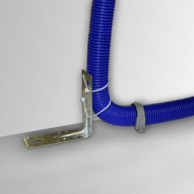 Reuter corner bracket for installation pipe